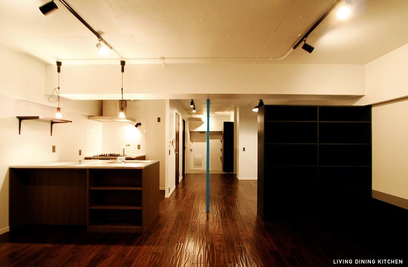 0LDK 未来×見せ収納|東京都リノベーションをリーズナブルに|nu【エヌユー】|東京都