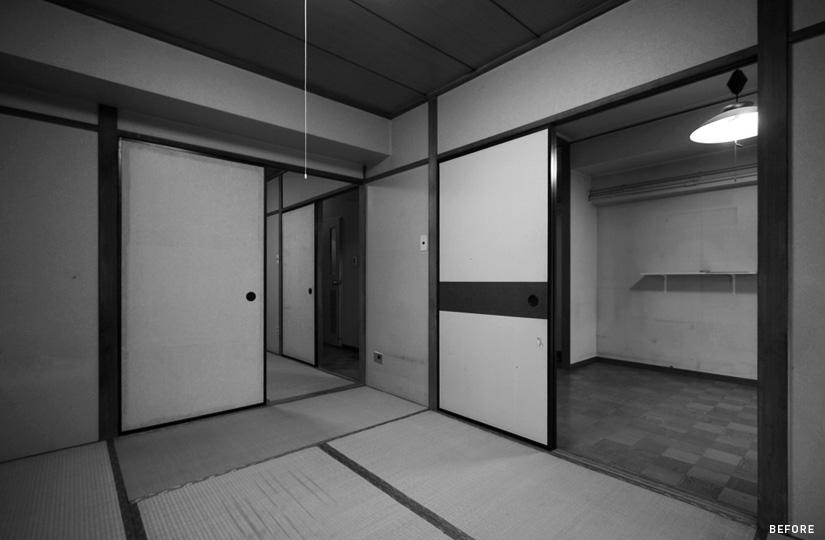 ひとつの部屋 キャンパス×自分絵の具|東京都リノベーションをリーズナブルに|nu【エヌユー】|東京都