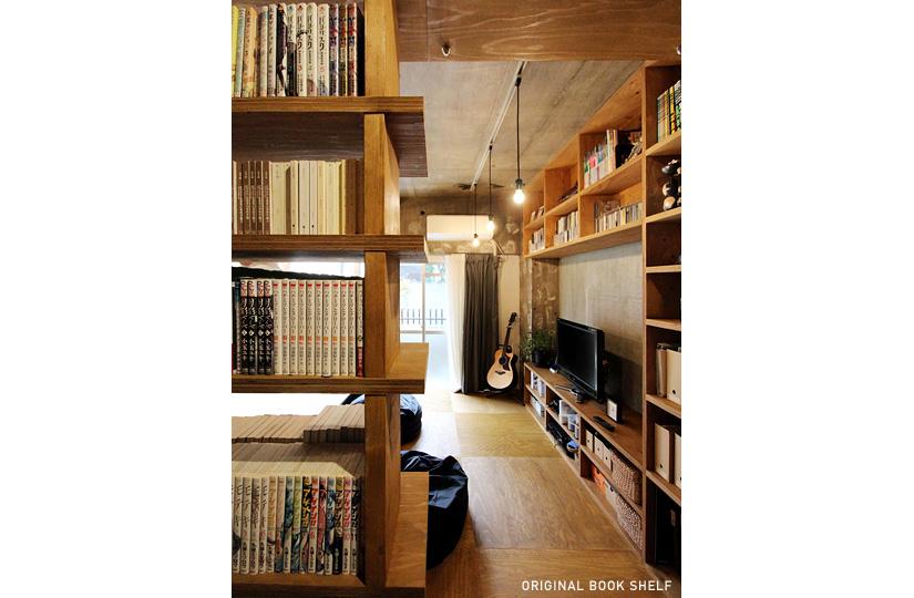 本屋と食堂
