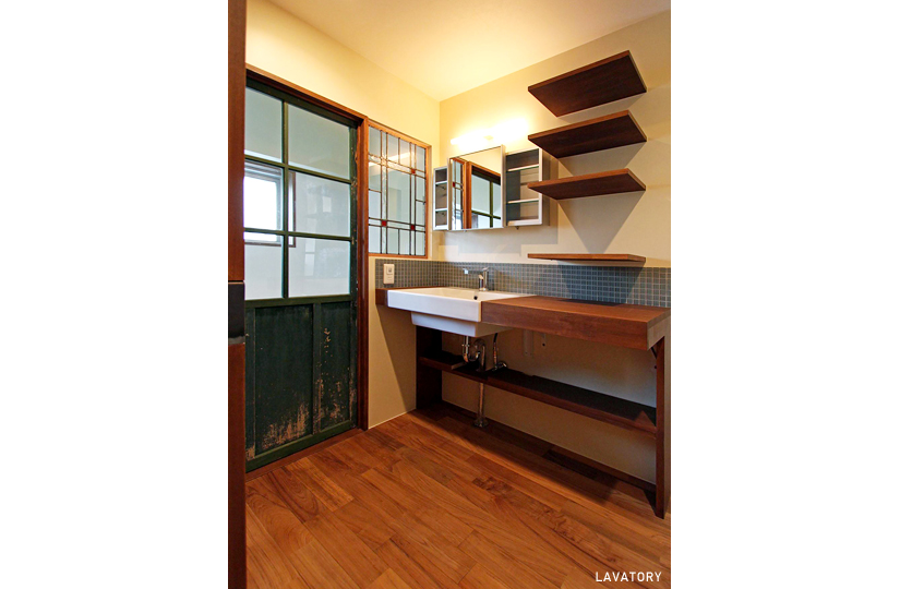 本棚 × ほっこり床