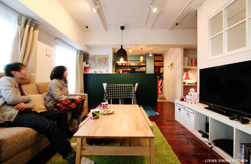ノッティングヒルの恋人 ブロック×色市場|東京都リノベーションをリーズナブルに|nu【エヌユー】|東京都