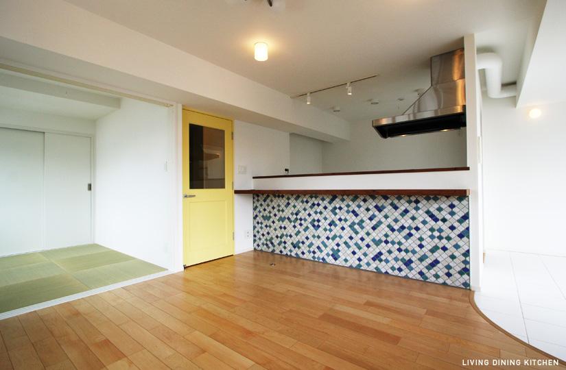 パリの休日 白壁×TEA TIME|東京都リノベーションをリーズナブルに|nu【エヌユー】|東京都