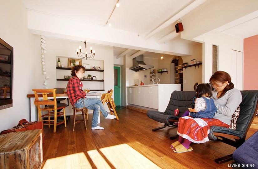 SHABBY 古材×カフェ|東京都リノベーションをリーズナブルに|nu【エヌユー】|東京都