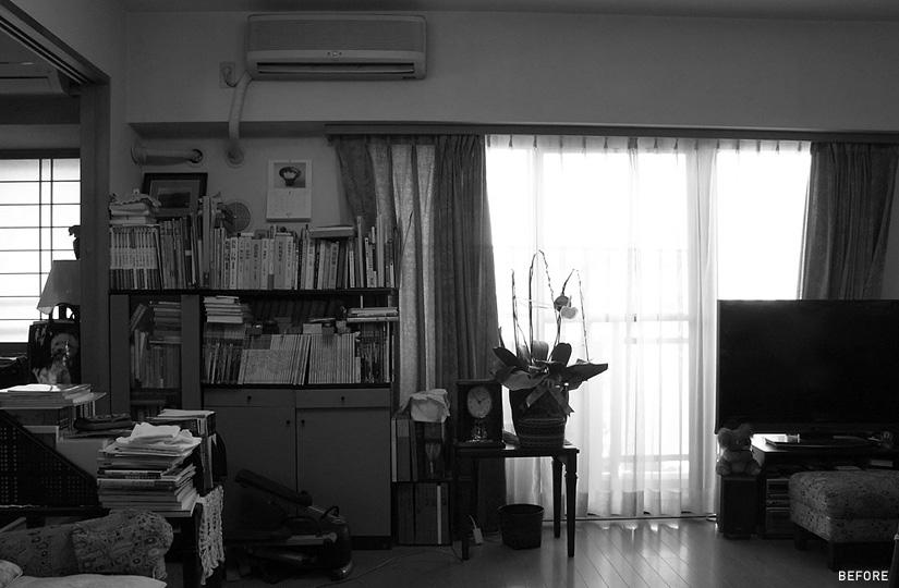 畳ベッド × 茶色床^