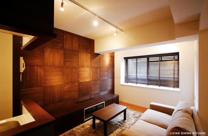390 ショコラ色の正方形|東京都リノベーションをリーズナブルに|nu【エヌユー】|東京都