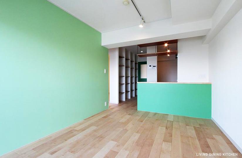 480 PLUS GREEN・DECO |リノベーション nu (東京都)【リノベーション東京スタンダード】|東京都