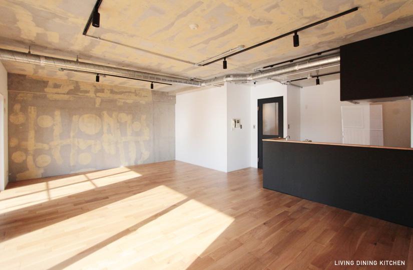 490 SIMPLE × ROUGH |リノベーション nu (東京都)【リノベーション東京スタンダード】|東京都
