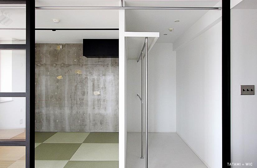 木のぬくもりに、黒でシゲキ|リノベーション nu (東京都)【リノベーション東京スタンダード】|東京都