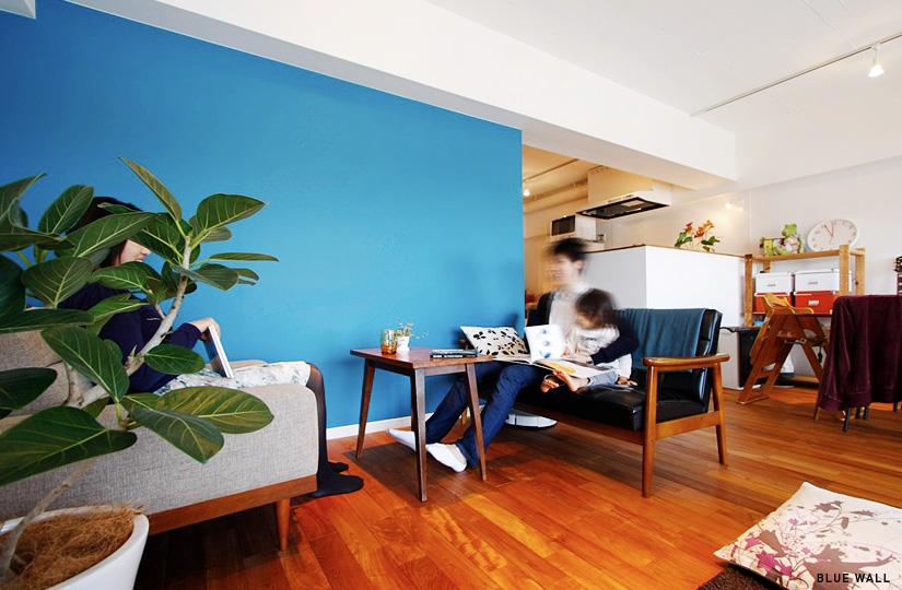 580 2つのブルー|東京都リノベーションをリーズナブルに|nu【エヌユー】|東京都
