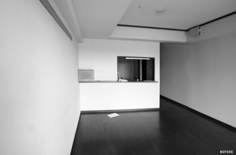 715 くりぬかれたカベ|リノベーション nu (東京都)【リノベーション東京スタンダード】|東京都
