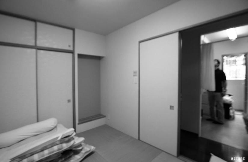 790 木枠の先に感じる家族とのつながり|リノベーション nu (東京都)【リノベーション東京スタンダード】|東京都