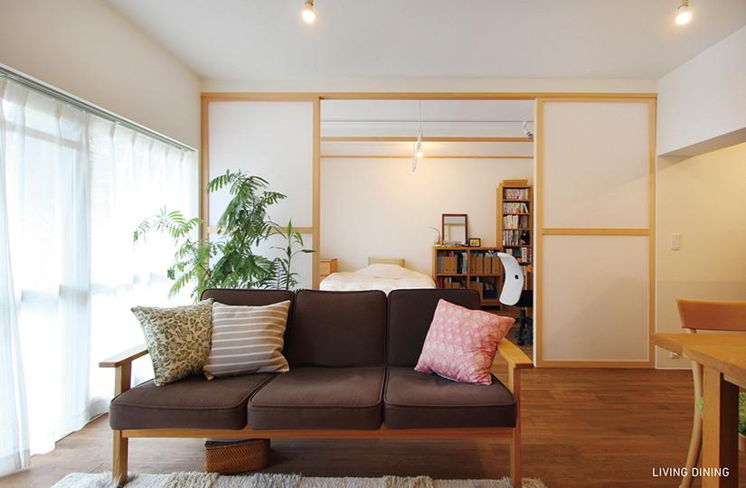 光と影 |リノベーション nu (東京都)【リノベーション東京スタンダード】|東京都