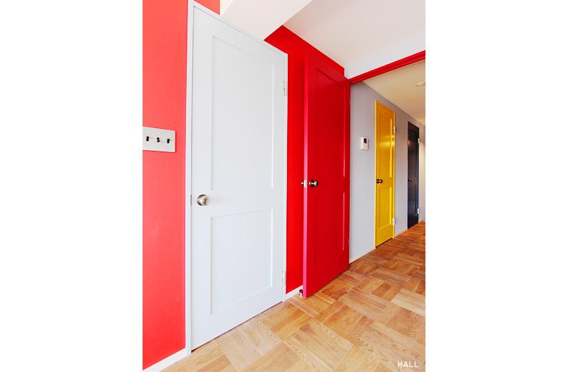 色のある部屋 |リノベーション nu (東京都)【リノベーション東京スタンダード】|東京都