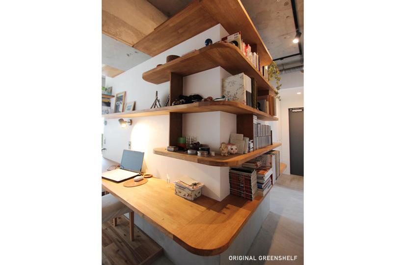 Leaf Lounge |リノベーション nu (東京都)【リノベーション東京スタンダード】|東京都