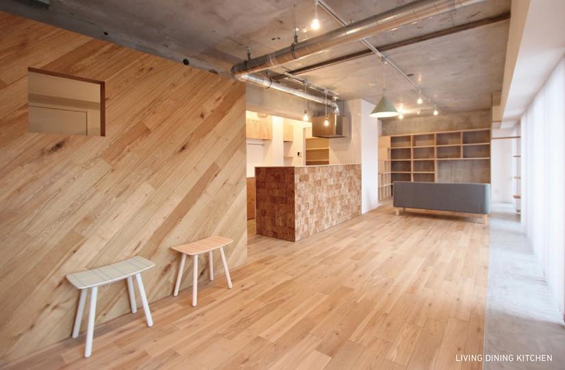 MOKU×LIBRARY |リノベーション nu (東京都)【リノベーション東京スタンダード】|東京都
