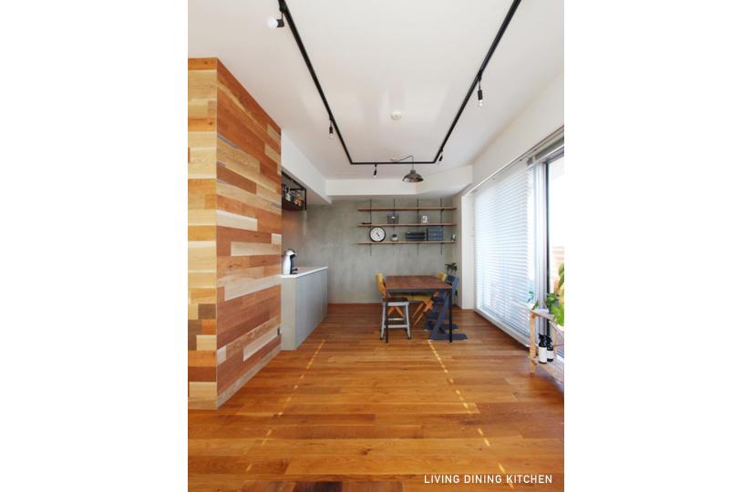 NATURAL×black edge |リノベーション nu (東京都)【リノベーション東京スタンダード】|東京都