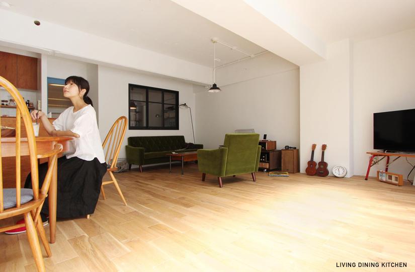 ECO「NTURAL×ROUGH」 |リノベーション nu (東京都)【リノベーション東京スタンダード】|東京都