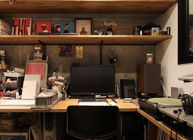 オレの書斎